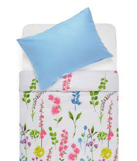 Cotton bedding set DIOR 20-1538/00-0022-PINK/L.BLUE