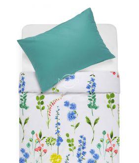 Cotton bedding set DIOR 20-1538/00-0312-BLUE/PETROL