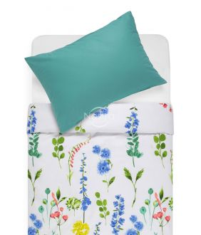 Lõuendriidest voodipesukomplekt DIOR 20-1538/00-0312-BLUE/PETROL
