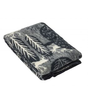 Blanket MERINO 80-3180-DARK GREY