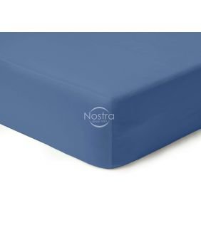 Fitted sateen sheets 00-0271-BLUE
