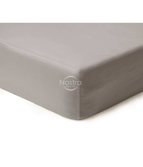 Fitted sateen sheets 00-0251-L.GREY