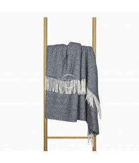 Woolen plaid MERINO-300 80-2060-DARK GREY