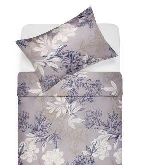 Sateen bedding set AUDREY 20-1612-BLUE
