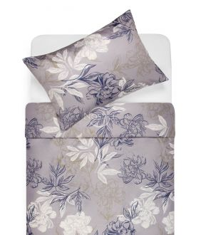 Satiinist voodipesu AUDREY 20-1612-BLUE