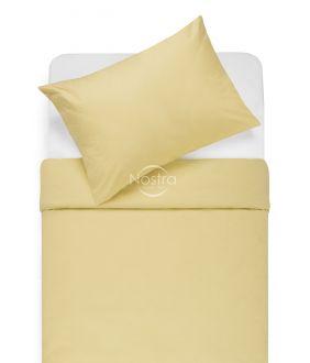 Lõuendriidest voodipesukomplekt DOTTY 00-0016-PALE BANAN