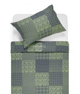 Lõuendriidest voodipesukomplekt DORITA 30-0567-GREEN