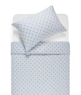 Flannel bedding set BRIELLE 40-1166-BLUE