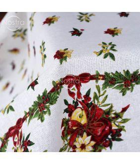 Cotton tablecloth 40-0329-WHITE