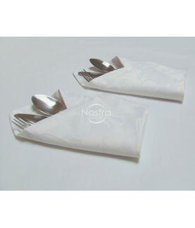 Jacquard satiinist salvrätikud 80-0005-WHITE