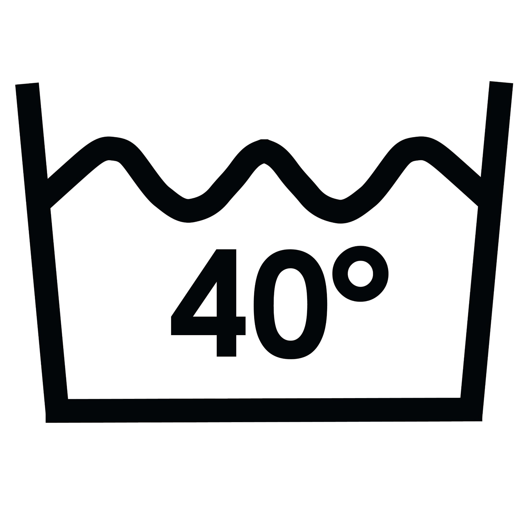 Veepesu kuni 40 °C